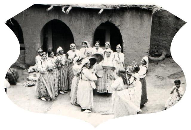 Chants berbères ahouach