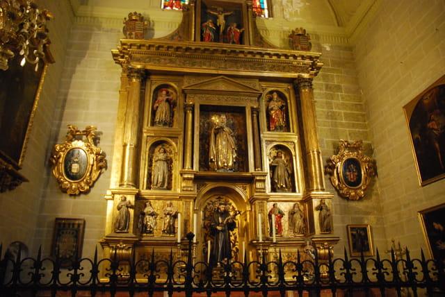 chapelle dans la cathédrale de Malaga