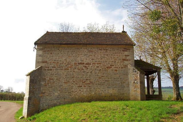 Chapelle dédiée à ste anne