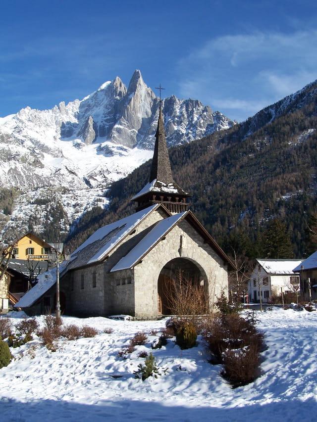 Chapelle des praz-de-chamonix