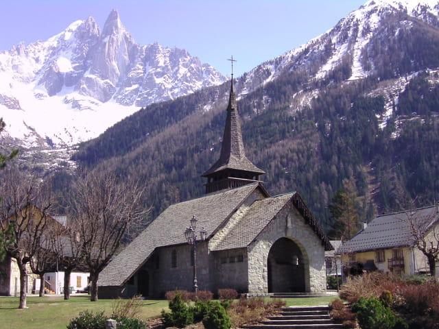 Chapelle des Praz et les Drus
