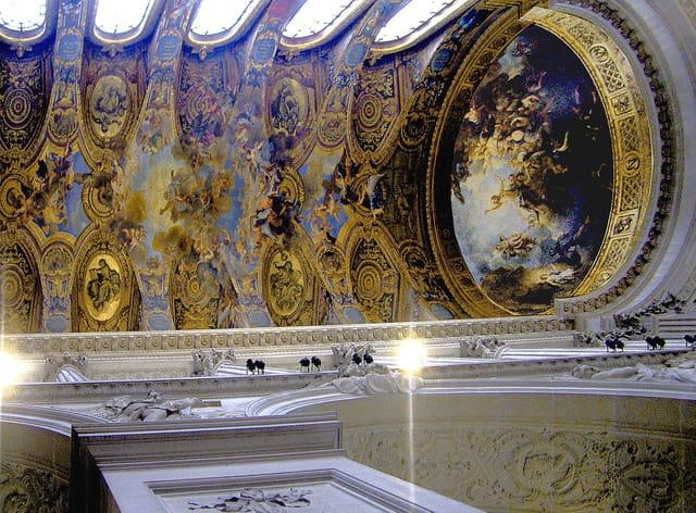 Chapelle royale, la voûte
