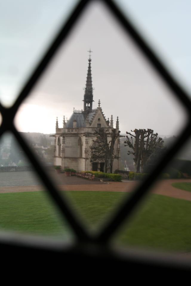Chapelle Saint-Hubert, tombe de Léonard de Vinci