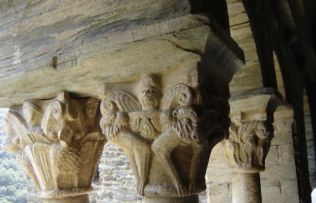 Chapiteaux du XIIème siècle