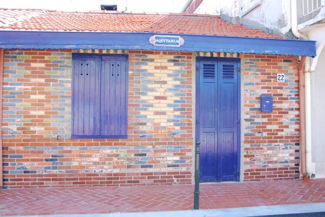 Charmante maison bleue