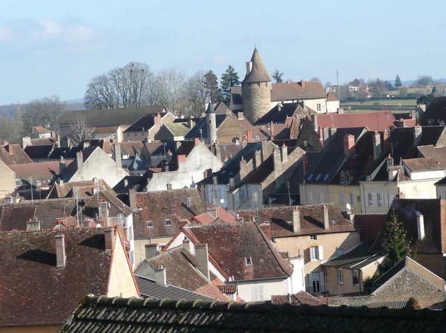 Charolles vu de Verdun