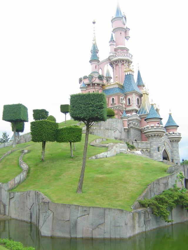 Chateau belle au bois dormant