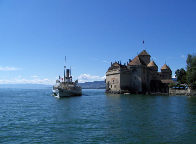 Chateau de Chillon Lac Léman