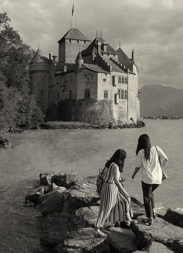 Château de Chillon, VD, Suisse.
