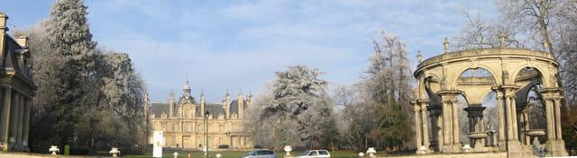 Château de Franconville givré