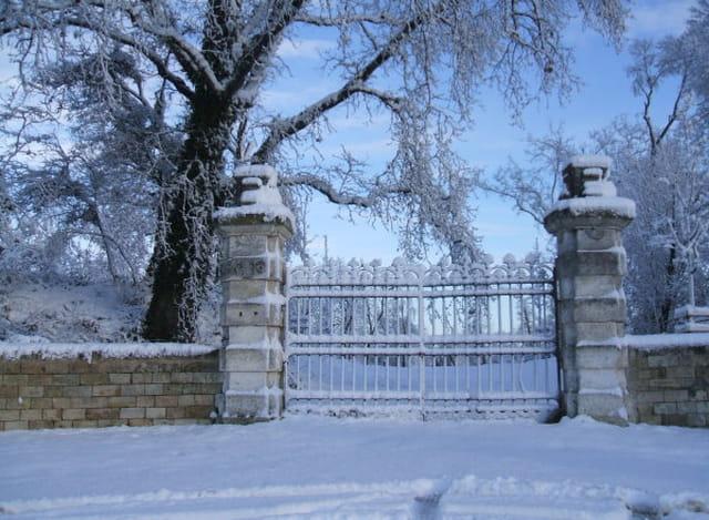 Chateau en hiver