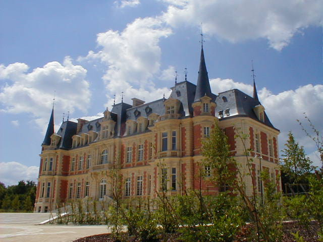 Chateau rénové
