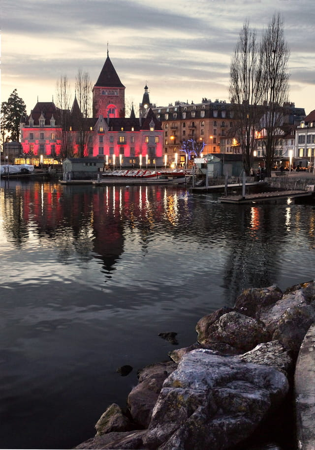 châteaux d'Ouchy-Lausanne