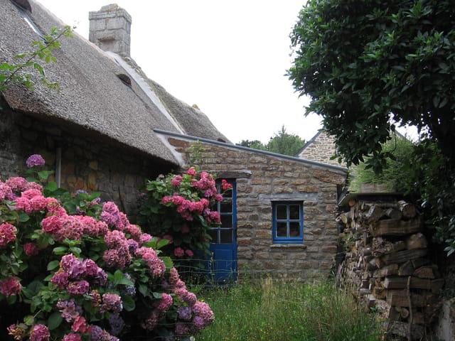 Chaumière bretonne à Kerascoët