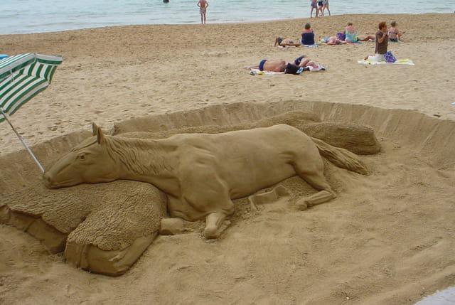Cheval de sable