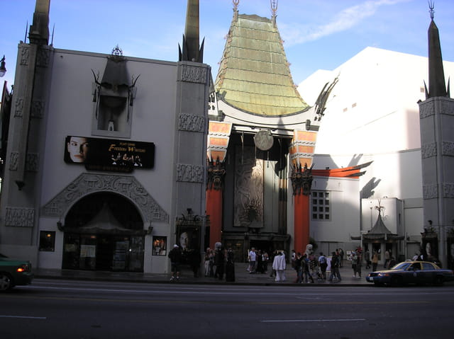 Chineese theater blvd hollywood