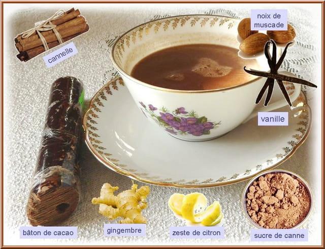 Essai de chocolat chaud aux épices