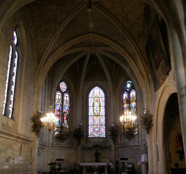 Choeur de l'église St Vincent