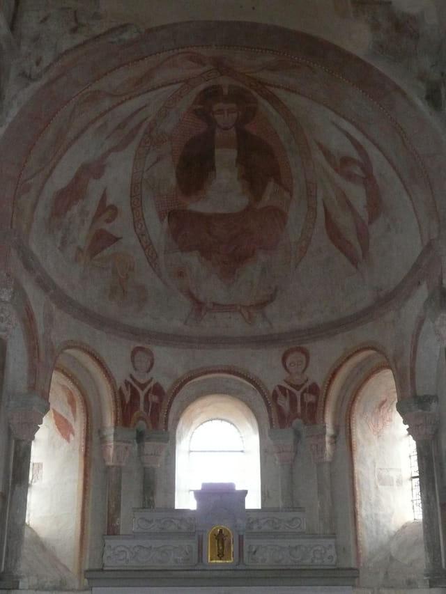 Choeur église de Gourdon