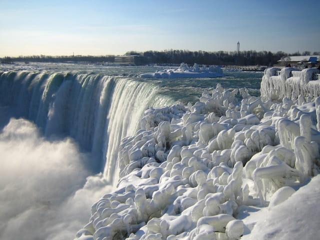 Chutes du Niagara en hiver