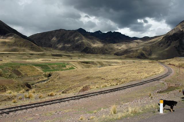 Ciel bas sur l'altiplano