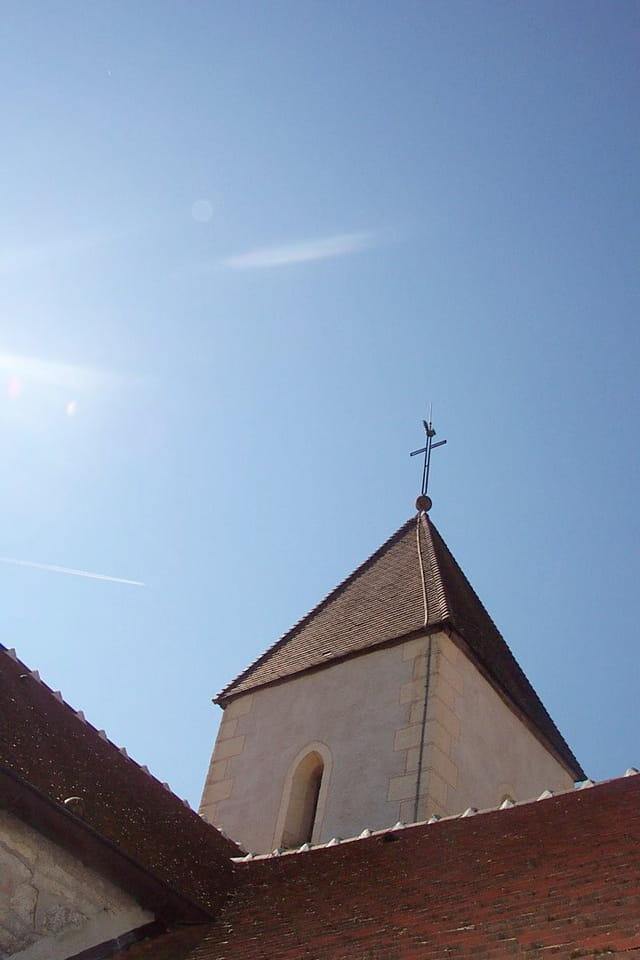 Ciel clair sur Saint Vallier