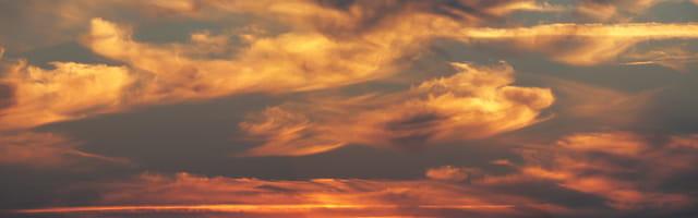 Ciel couleur automne