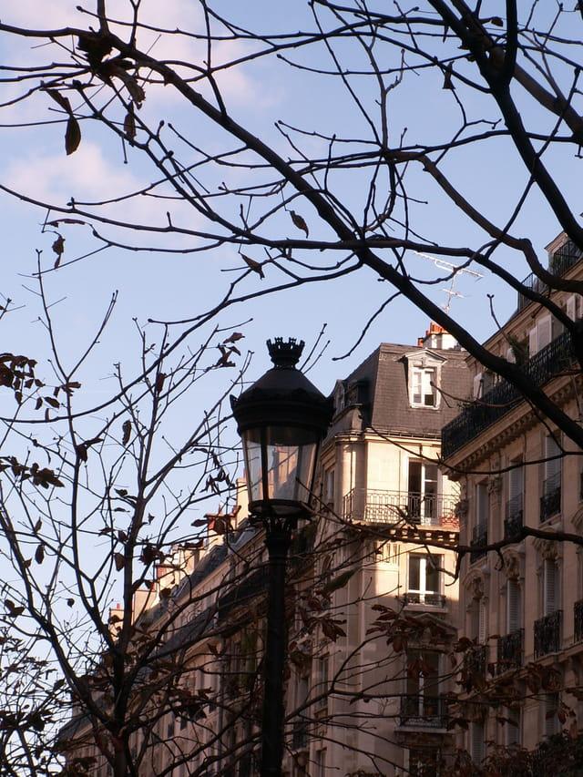 Ciel d automne à paris