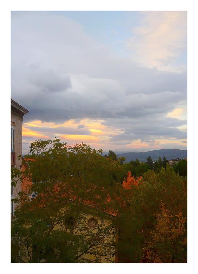 Ciel et couleurs d'automne