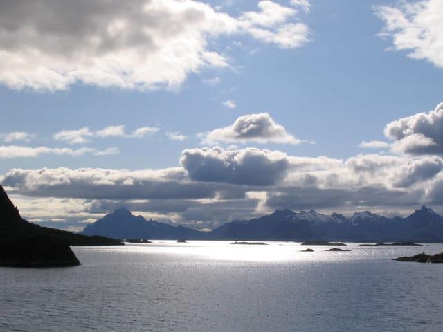 Ciel nuages et mer