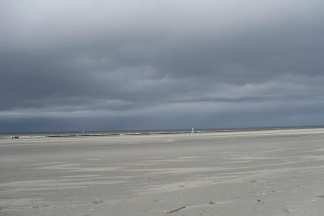 Ciel tourmenté en Baie de Somme