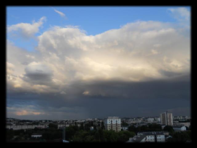 Ciels d?île-de-France 18 - Ciel d?orage