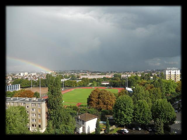 Ciels en �le-de-France 27 - Arc-en-ciel
