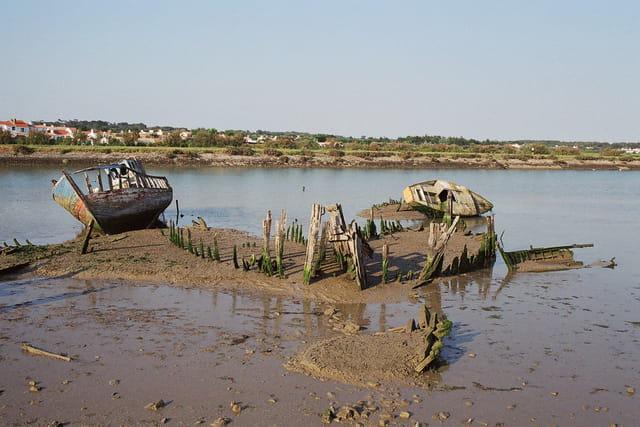 Cimetière bateaux