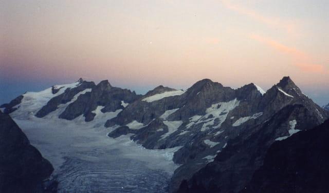 Cirque du glacier blanc