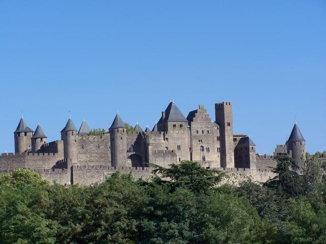 Cité château de Carcassonne