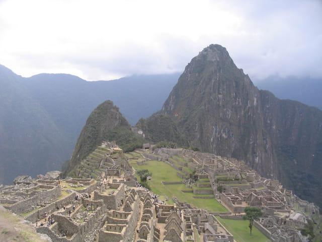 Cité Inca Machu Picchu