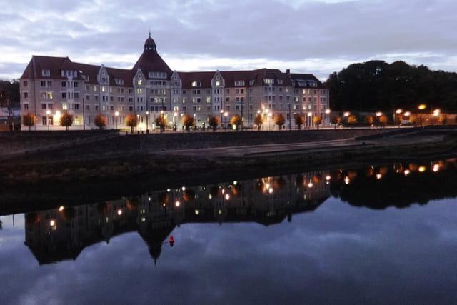Cité universitaire au bord du Doubs
