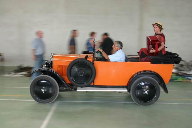 Citroën torpedo en musique !