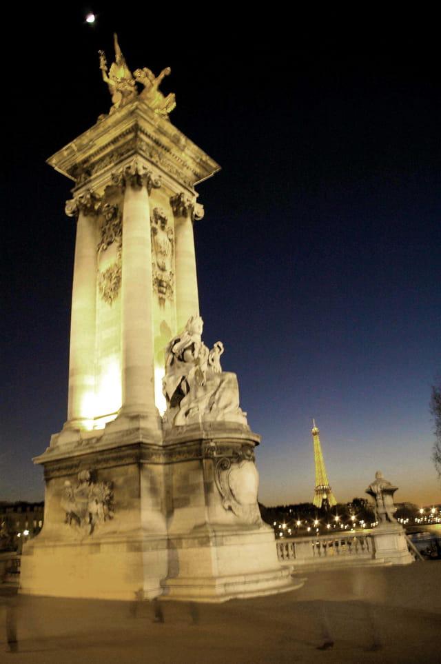 Clair de Lune sur la Seine