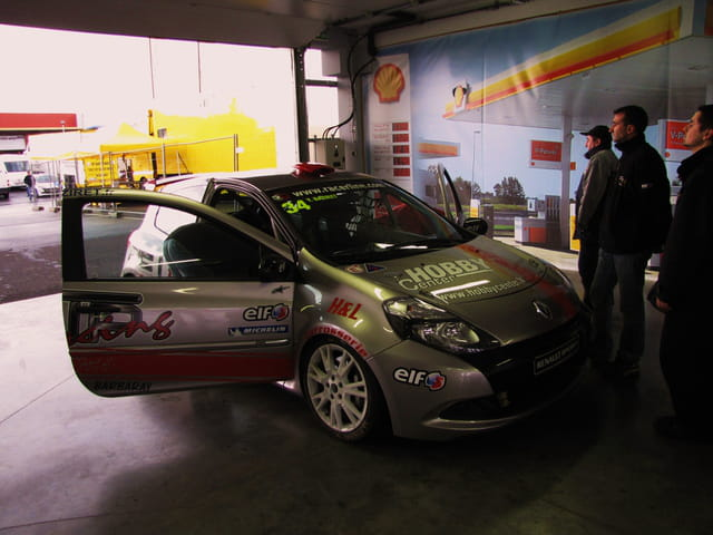 Clio Cup - Coupe de France des circuits - Paul Armagnac - Nogaro.