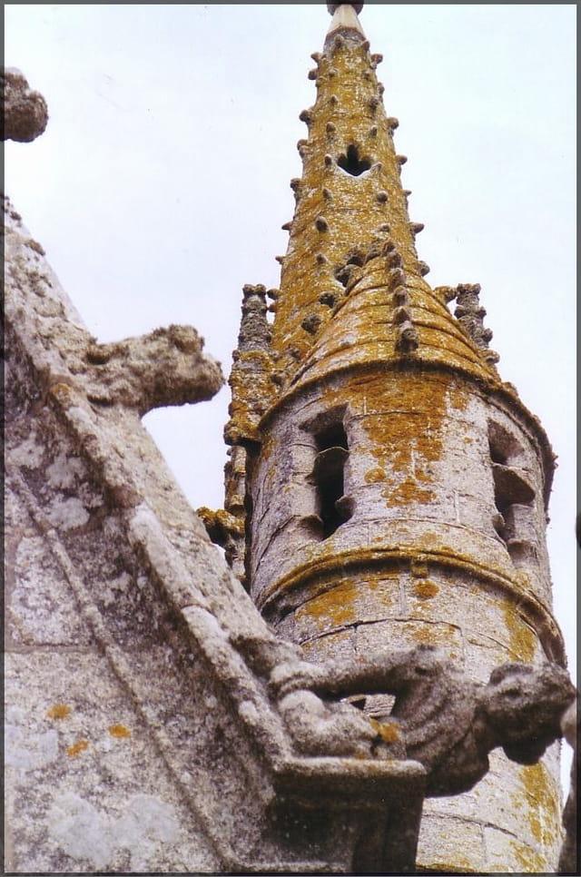 Clocher breton à tourelle
