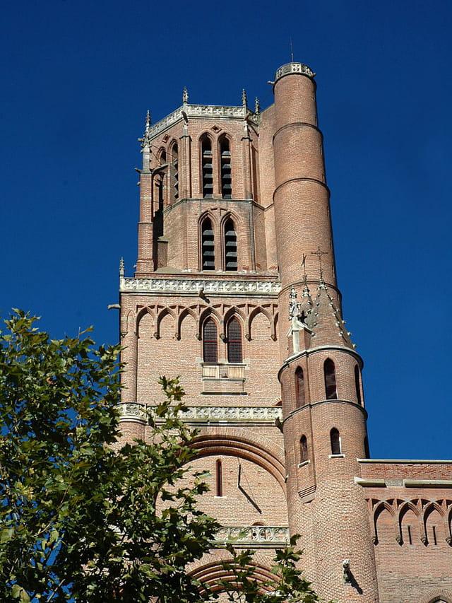 Clocher cathédrale d\'Albi