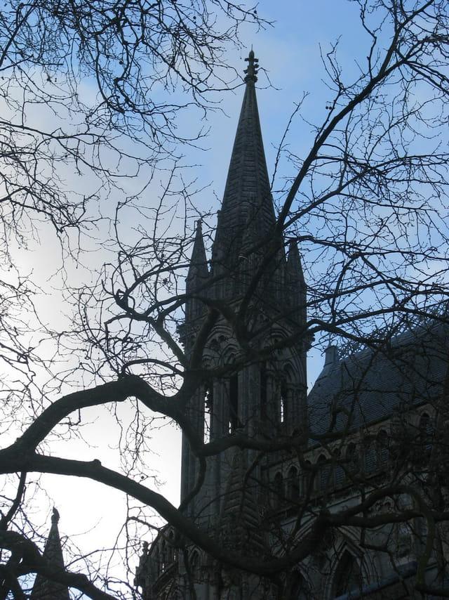 Clocher de la cathédrale de Bayeux
