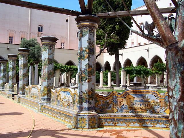 Cloitre eglise Santa Chiara Napoli