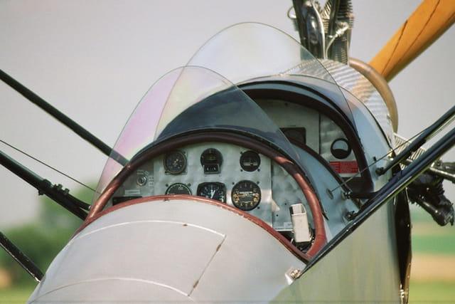 Cockpit de légende du Potez 60