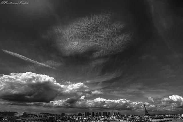 Cocktail de nuages Parisiens