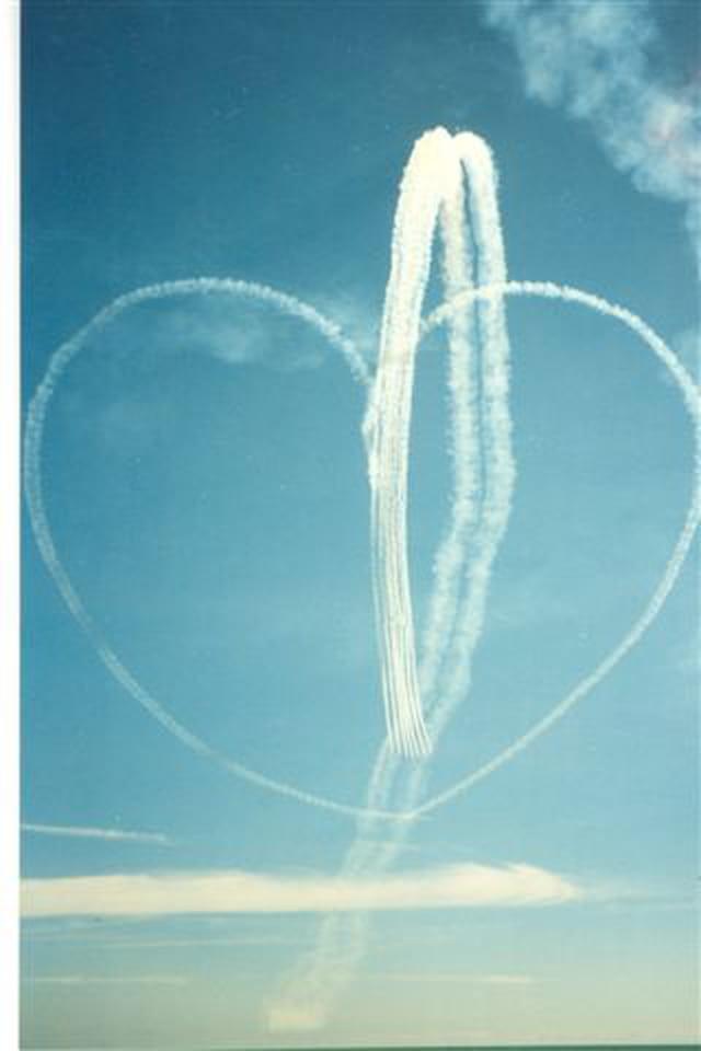 Coeur en ciel