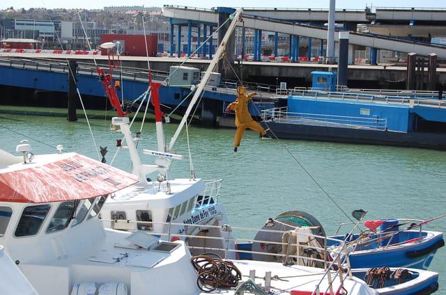 Colère des marins pêcheurs