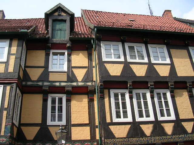 Colombages à Celle